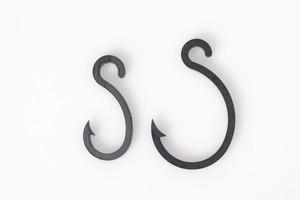IKARI型S字フック大小1セット