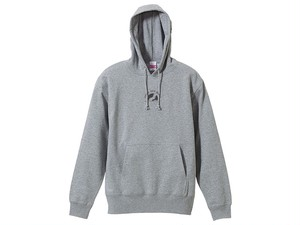 YOG SYMBOL HOODIE (Deep Gray on Gray)