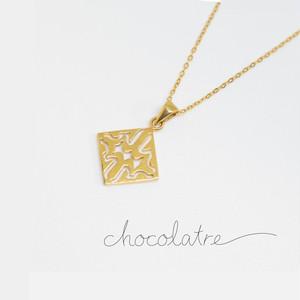 chocolatre「ロシェ」ゴールドペンダント