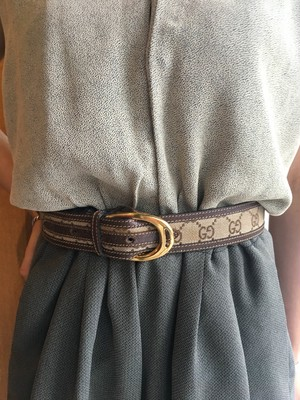 OLD GUCCI leather belt