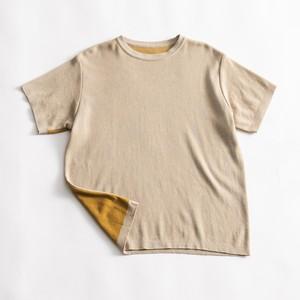 COIN T-SHIRT / ベージュ×ジンジャー