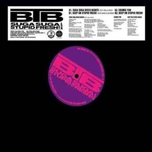 """【残りわずか/12""""】BTB - Suga Suga Stupid fresh! EP"""