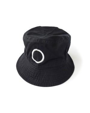 帽子5号「円」黒