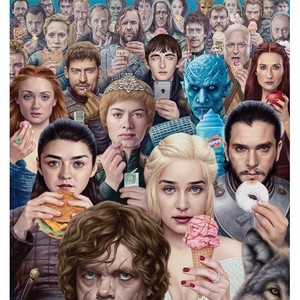 Alex Gross - OBSESSION LIMITED EDITION PRINT - PP 8/10