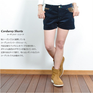 SALE!!30%OFF ginger and sprout(ジンジャーアンドスプラウト)CORDUROY SHORTS