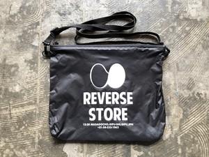 REVERSE ORIGINAL NYLON SACOCHE - BLACK