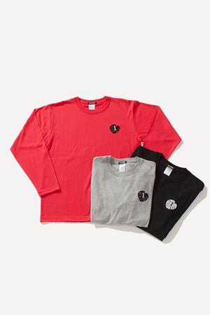 長袖Tシャツ[Long sleeve T-shirt]