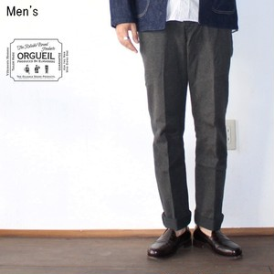ORGUEIL クラシックトラウザー Classic Low Waist Trousers (BLACK) OR-1002 【Men's】