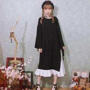【ワンピース】ファッションロリィタスウィート長袖ロングワンピース