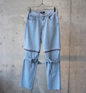 DENIM BONTAGE PANTS / INDIGO