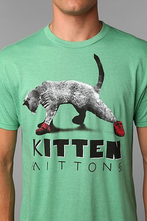 It's Always Sunny In Philadelphia Kitten Mittons Tee by urban outfittes