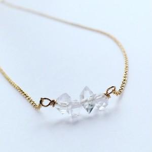 Dream Crystal* ハーキマーダイヤモンド ネックレス