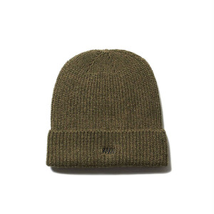 WM LOGO WATCH CAP - KHAKI