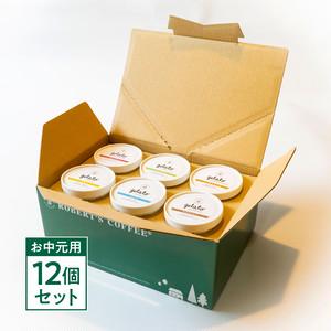【期間限定/お中元用】ロバーツコーヒージェラートファクトリー ジェラート6種類セット 12個入(6種×各2個)