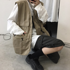 【翌日発送】Fishing vest LD0705