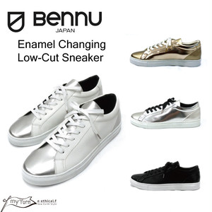 【BENNU】Enamel Changing Low-Cut Sneaker