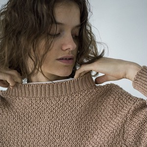 unfil (アンフィル) Egyptian Cotton Amunzen Knit Sweater