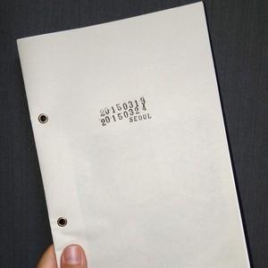 zine『20150319 20150324 SEOUL』*Reissue