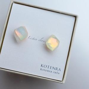 Color quartz ピアス 14KGF