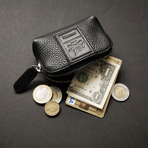 【S size】本革ポーチ 上質Excella Zip使用 Leather Pouch crambox
