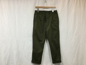 "UNIVERSAL PRODUCTS.×YAAH""FANCTION TWILL SLACKS OLIVE"""