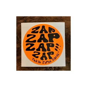 ZAP Vinyl Sticker