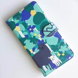 手帳型スマホケース~羊~