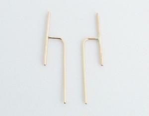 Mark steel Jewelry ピアス(MSP003GD)