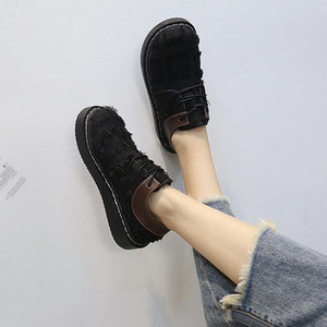 【flat-shoes】2018 HOT student college style flat-shoes