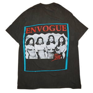 """Luther Vandross × Envogue"" Vintage Concert Tee Used"
