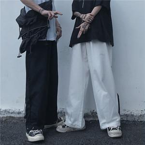 《即納》ストリートカジュアル・裾ひもワイドパンツ
