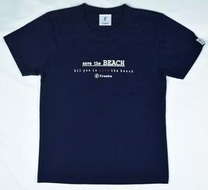 freaks   ロゴプリントTシャツKIDS(ネイビー)オリジナルチャーム付 数量限定