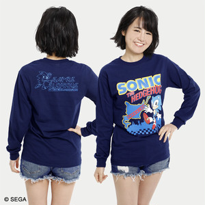 SONIC THE HEDGEHOG x HOKKAIDO ロングTシャツ / 全3色