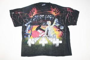 Metallica vintage T-Shirt Black-L-
