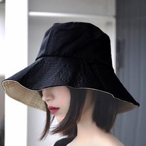 【日焼け対策 つば広帽子】リバーシブル ファッション小物 帽子 つば広 ハット リゾート ビーチ UVカット 女優帽 レディース帽子 ストローハット 春 夏 ハット 紫外線 UV対策 送料無料