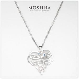 【MOSHNA:モシュナ】SILVER SET SNAKE HEART