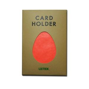 Lixtick Paper Card Holder ~ORANGE~