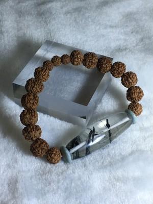 ヒマラヤギルギッド水晶天珠ブレスレット