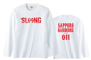 S.C.H.C LOGO : 3【LONG SLEEVE : 白ボディ】