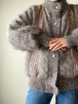 Vintage Design Mohair Wool Jacket