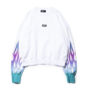 Fire sweat pullover / WHITE