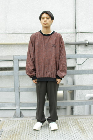 Poly Wind Shell  Pullover