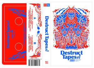 V.A. / Destruct Tapes #1 (テープ)