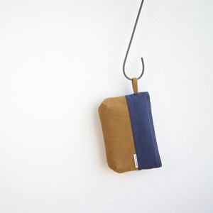CANVAS FLAT POUCH S / NV×CM