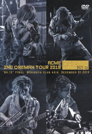 DVD 「2nd ONEMAN TOUR -No.13-」