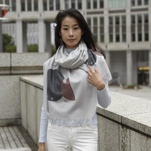 Virgin wool scarf MIYABI