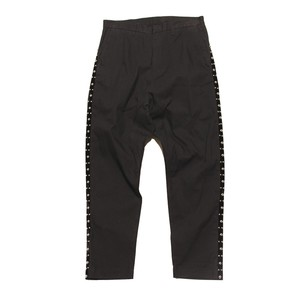 Enharmonic TAVERN Side Studs Sarrouel Pants -Black < LSD-AH3P2 >