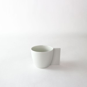 2016/ ChristienMeindertsma Coffecup φ7 x W9.5 x H5.8cm  有田焼 陶磁器 コーヒーカップ デザイナーズ ブランド シンプル  スタイリッシュ テーブルウェア オランダ 北欧