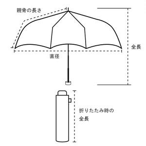 晴雨兼用折りたたみ傘 UVカット99%  直径89cm ボタニカルプリント お散歩用に