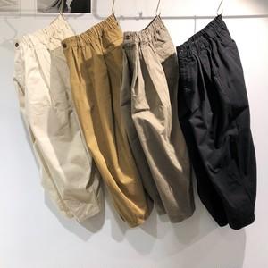 HARVESTY 【ハ―ベスティ】CIRCUS PANTS